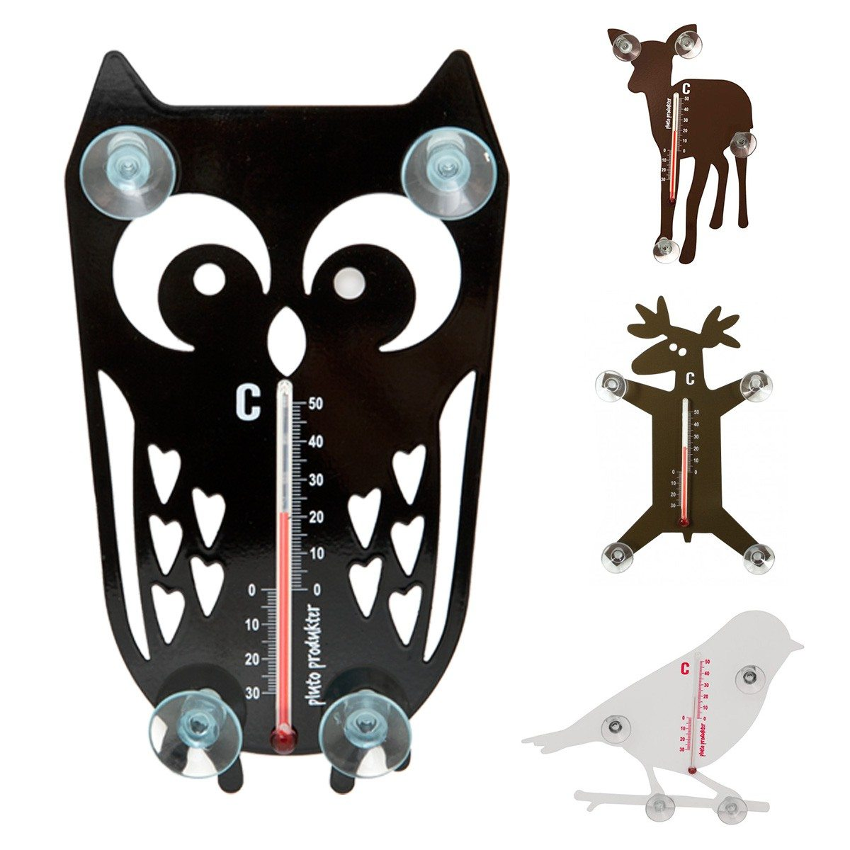 Beestachtige thermometer