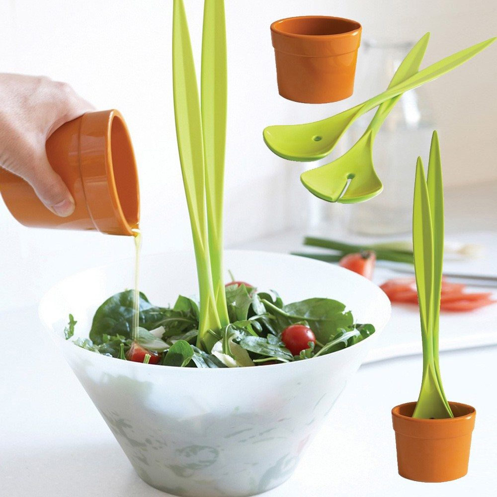 Black + Blum grappig saladebestek