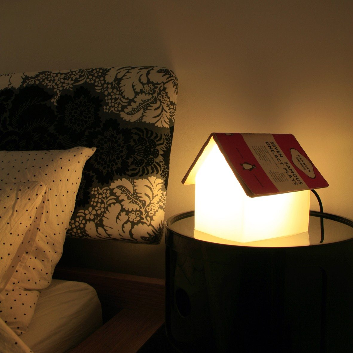 Boekensteun tafellamp
