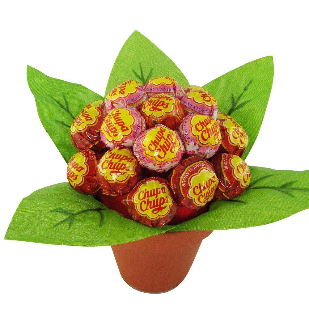 Chupa Chups lollybloem - rood