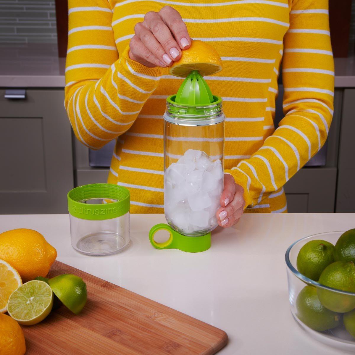 CitrusZinger - karaf met citruspers