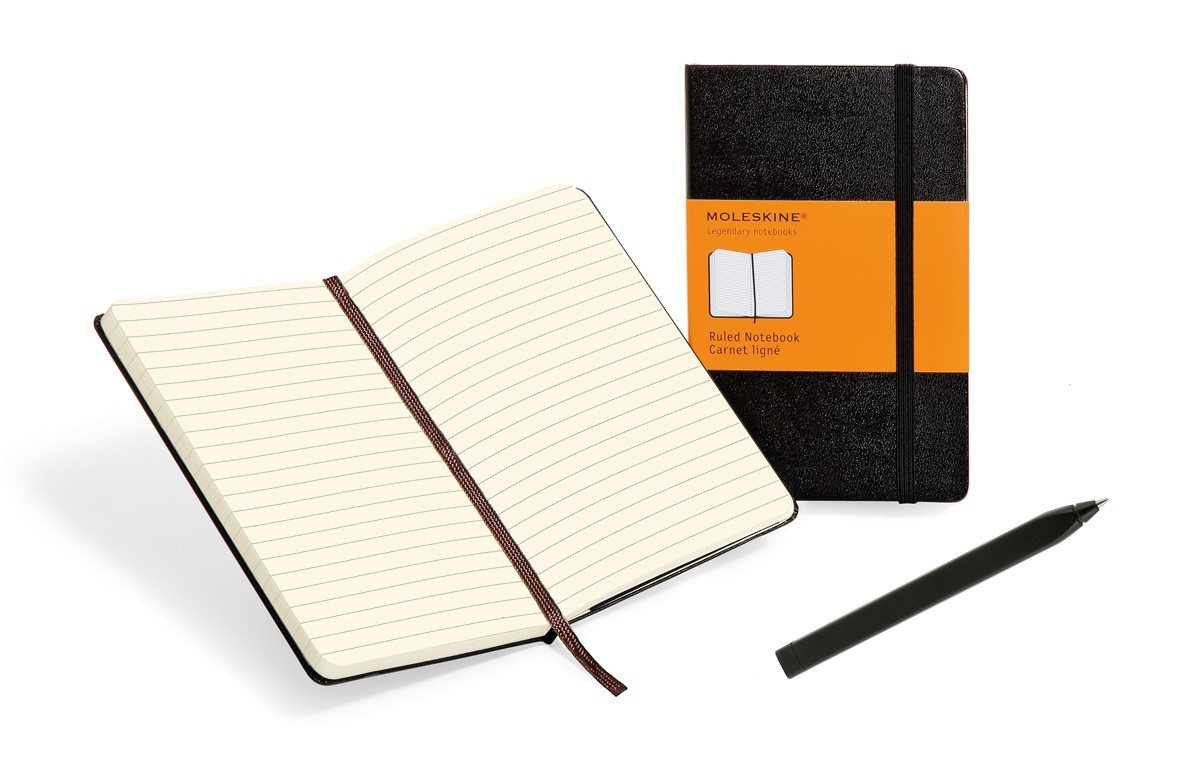 Creative - Moleskine notitieboek en pen