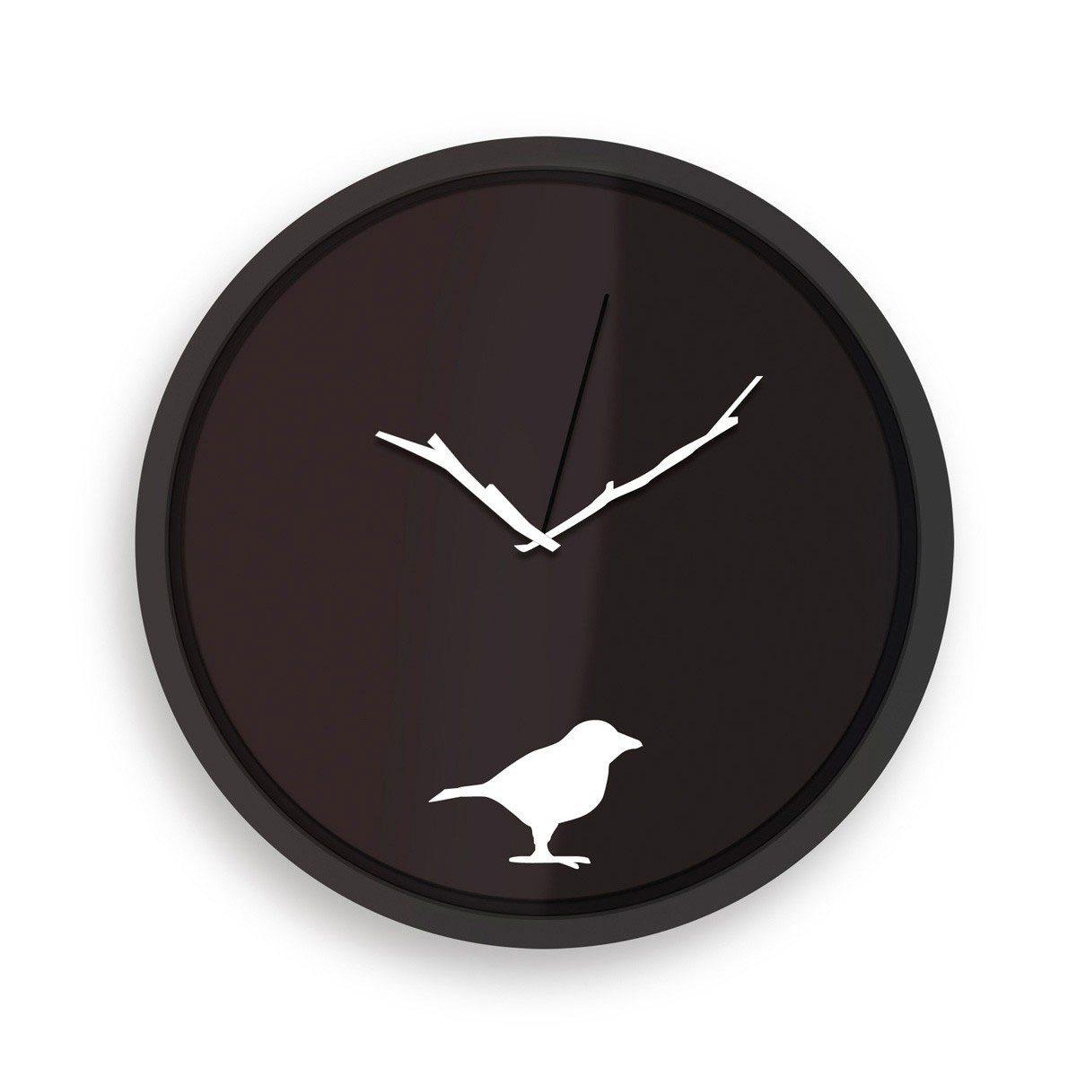 De vroege vogel...wandklok