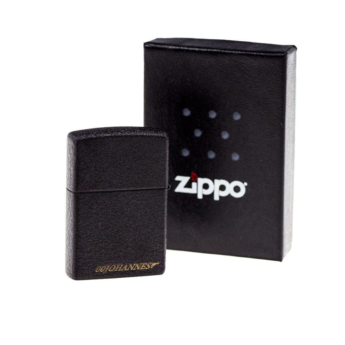 Gentleman´s Zippo - aansteker met gravure