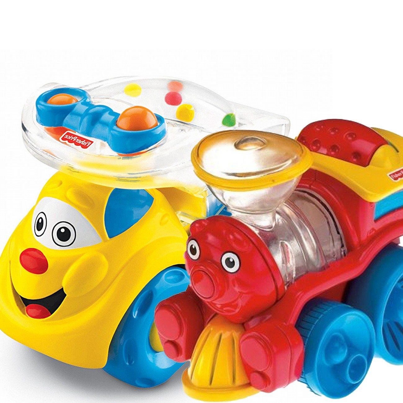 Grappige voertuigen van Fisher-Price