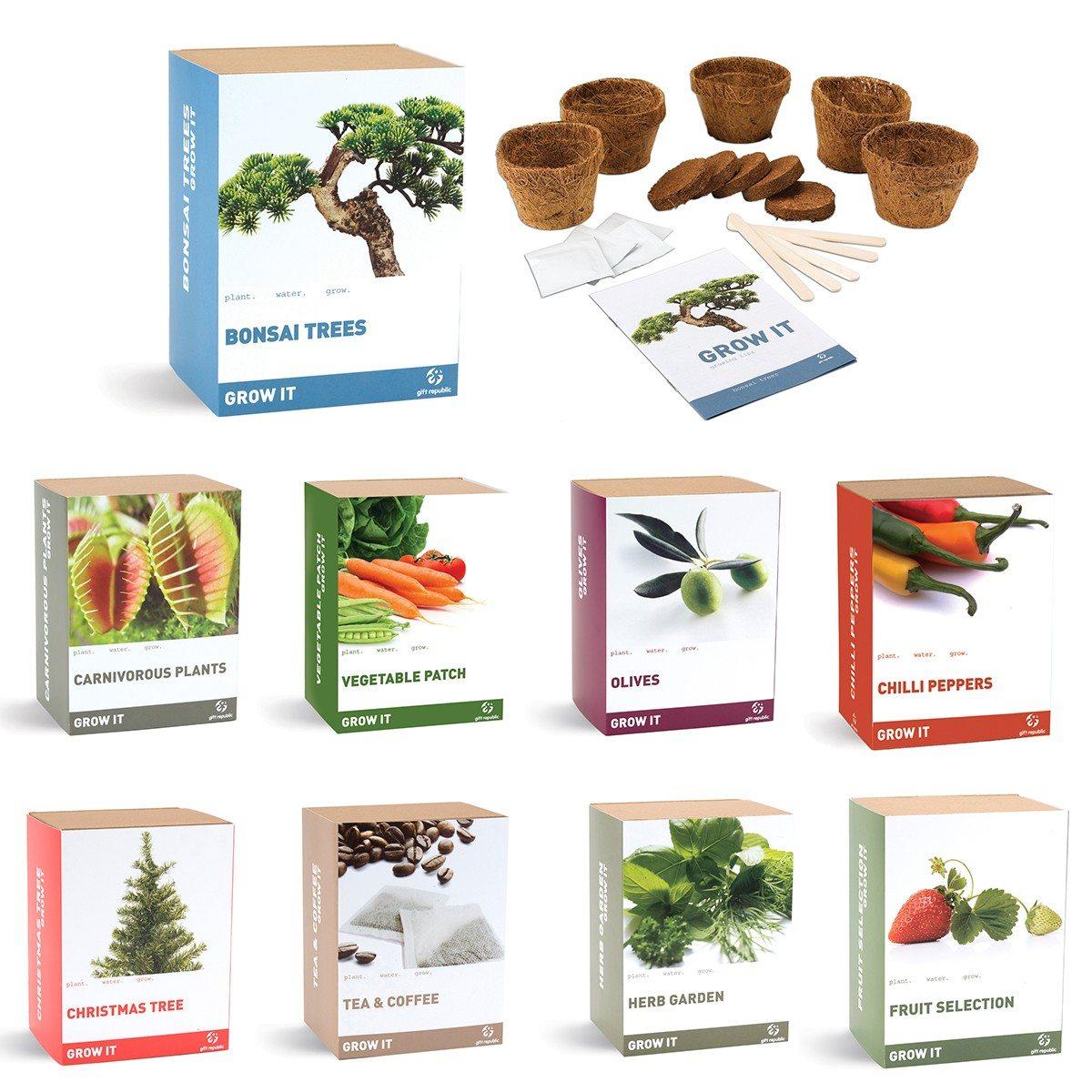 Grow it plantensets - zelf planten aanbouwen!