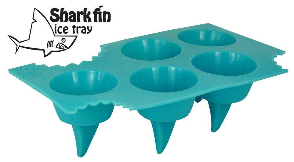 Haaienvinnen ijsblokjes