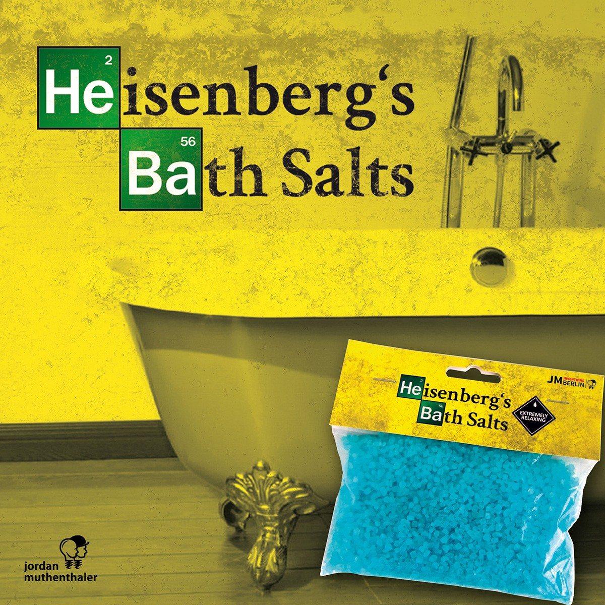 Heisenbergs badzout