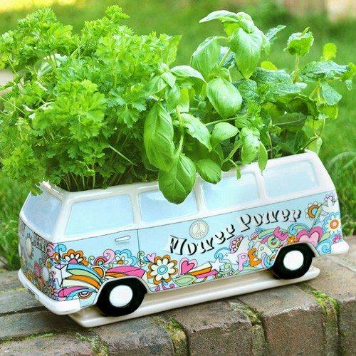 Herbert plantenbak met flowerpower