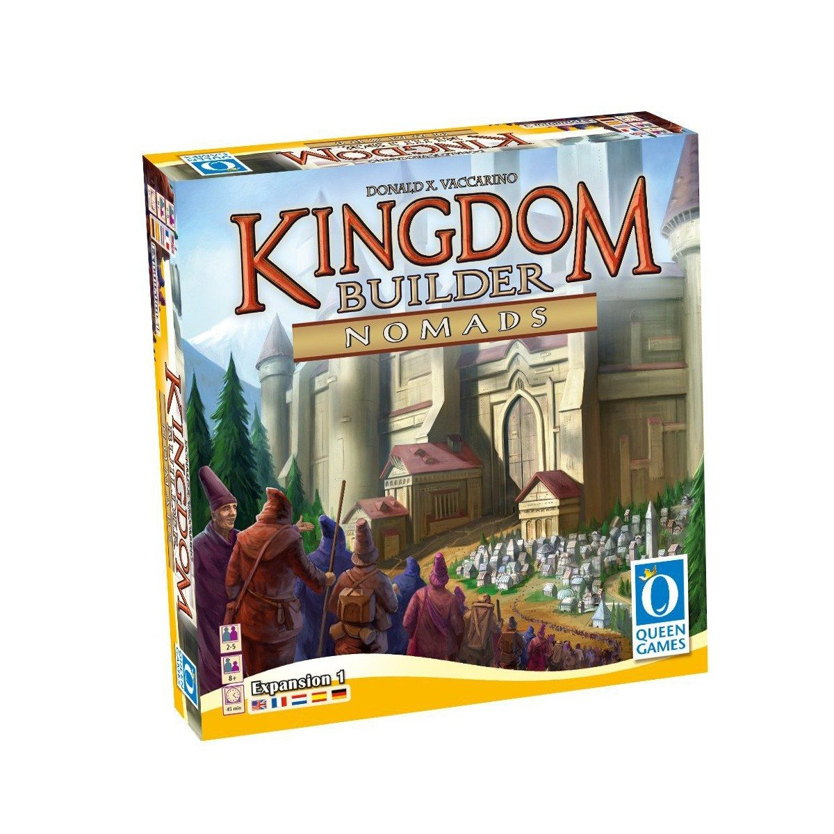 ''Kingdom Builder - Nomads'' - Expansion 1
