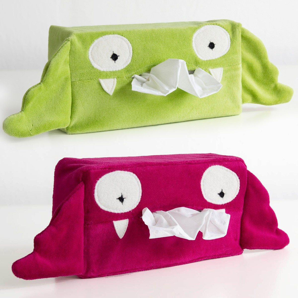 Klein monstertje - tissuedoos