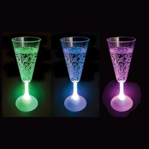 LED-champagneglas