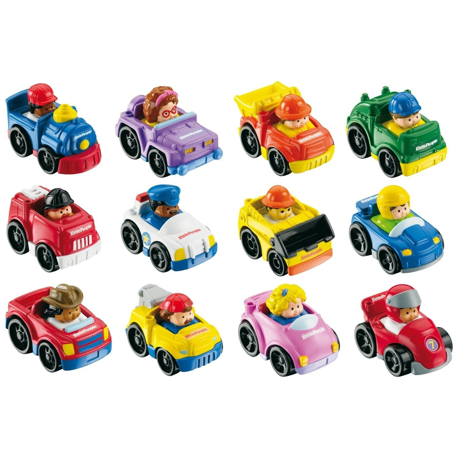 Little People – speelgoedauto's van Fisher Price