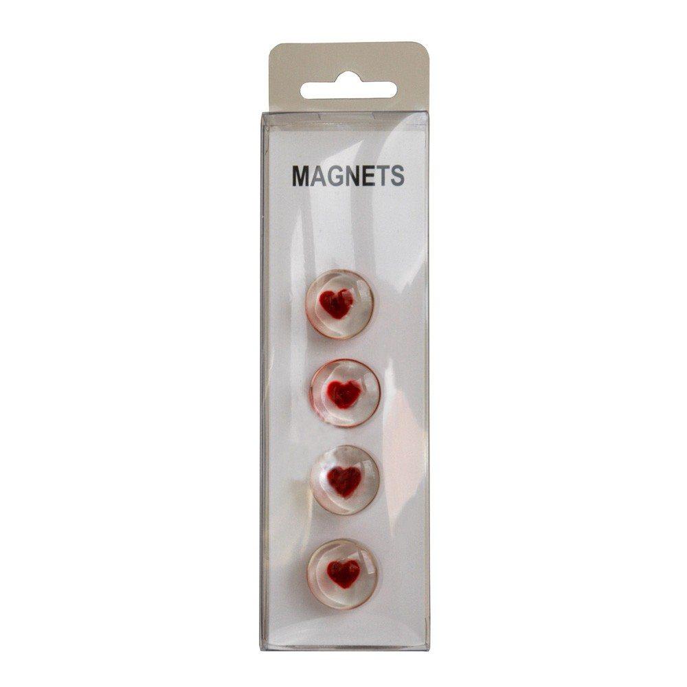 Magneten met hartjes