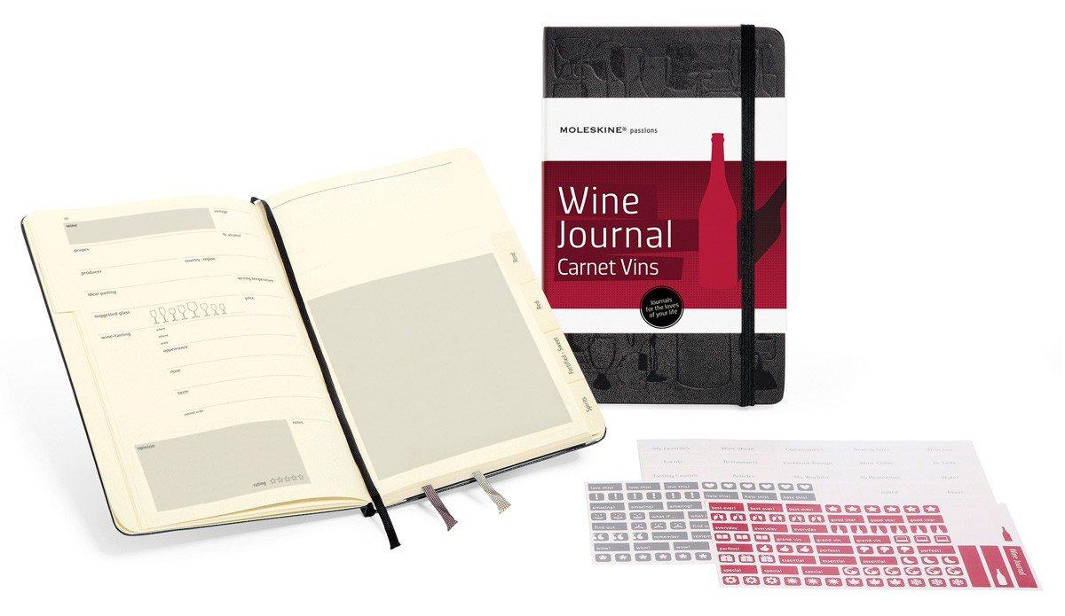 Moleskine wijnnotitieboekje
