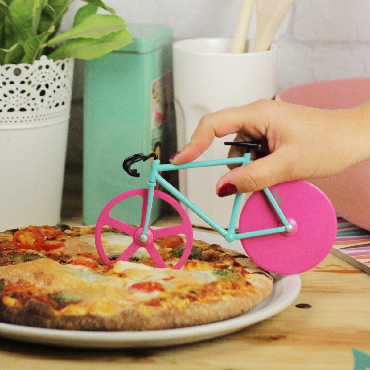 "Pizzasnijder ""fiets"""