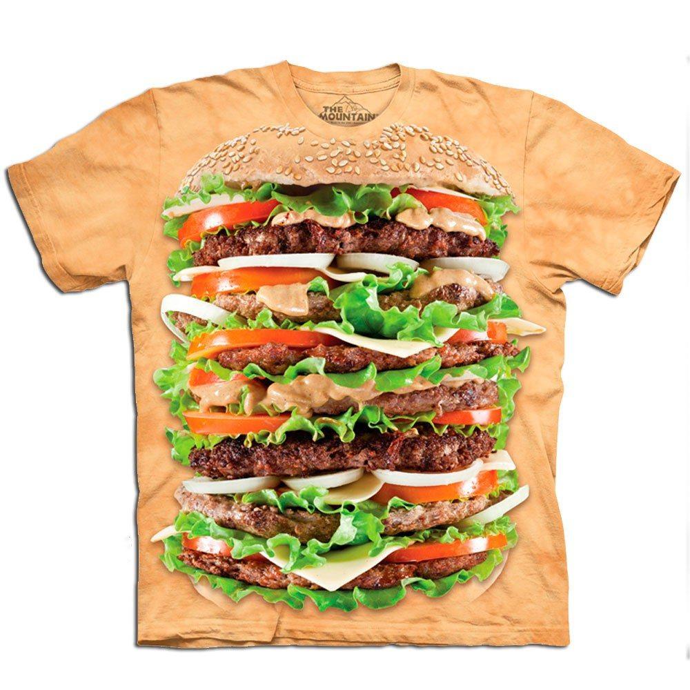 Shirt voor de echte hamburger-meester