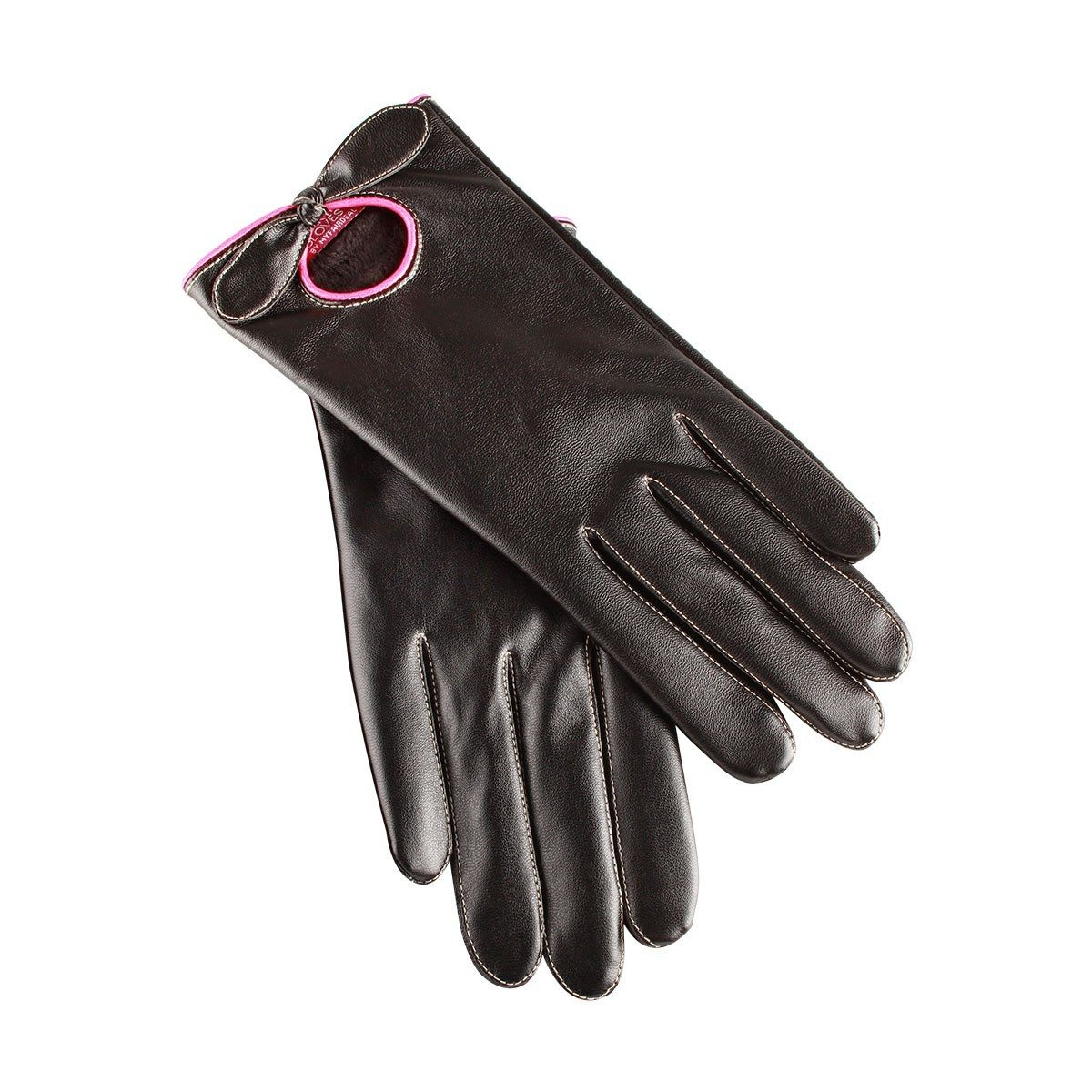 Smartphone leren handschoenen voor vrouwen