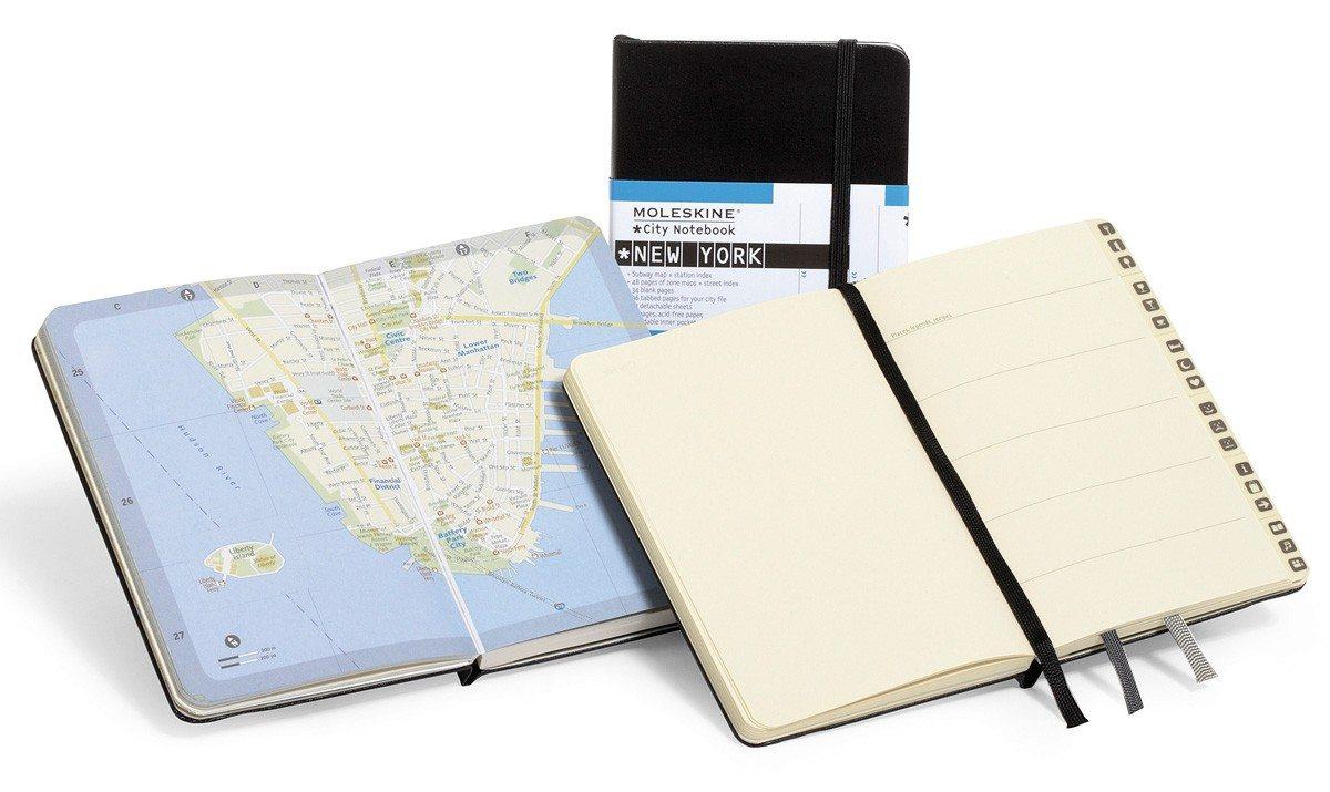 Steden notitieboekjes