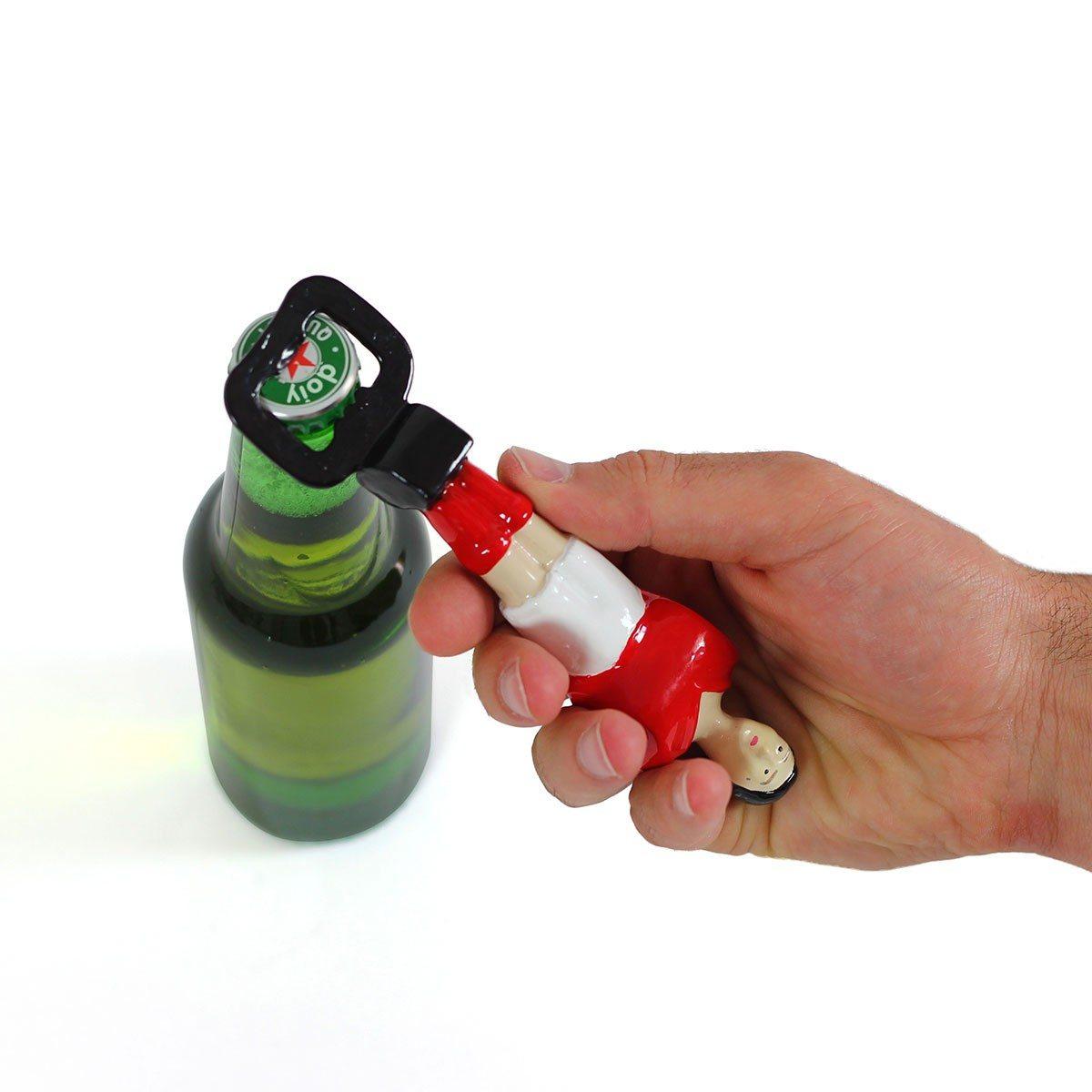 Tafelvoetbalspeler flessenopener