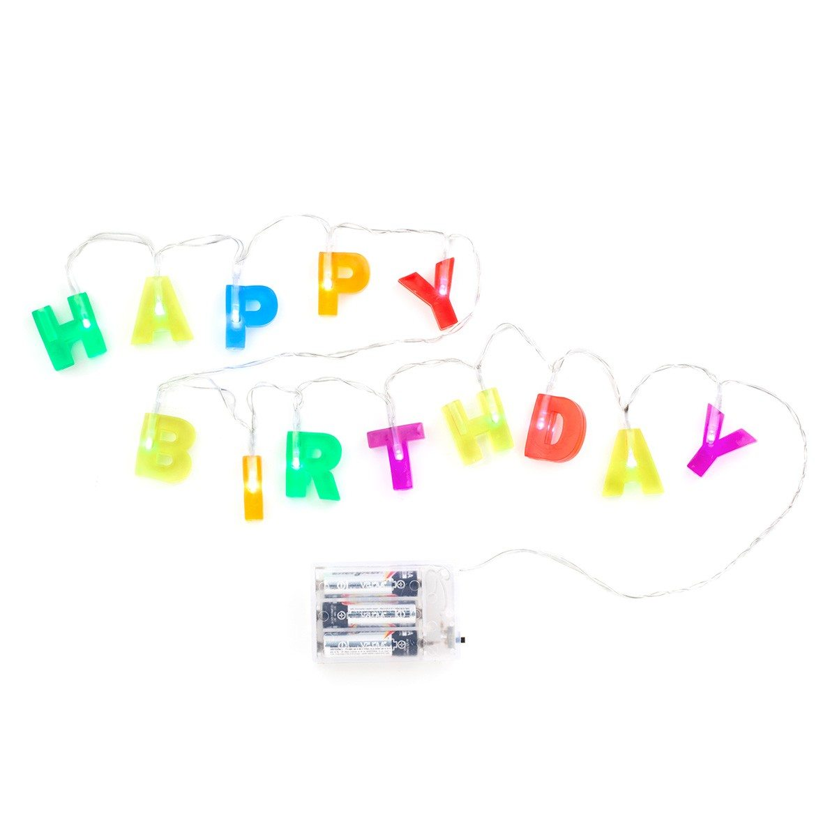 Verlichtingssnoer ''Happy Birthday''