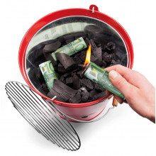 Burn your money - BBQ briquet