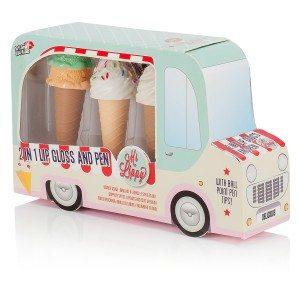 """2in1 lipgloss & pen """"Ice cream"""""""
