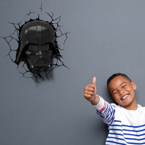 3D-lamp: Darth Vader