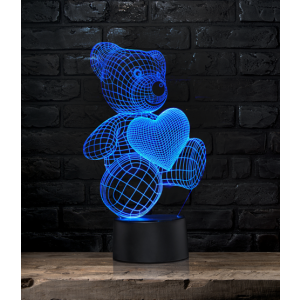 "3D-lamp ""Teddy"""