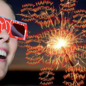 """3D set """"Happy Birthday"""""""