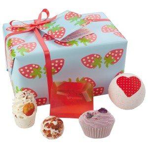Aardbeiendroom - Cadeau voor een heerlijk bad