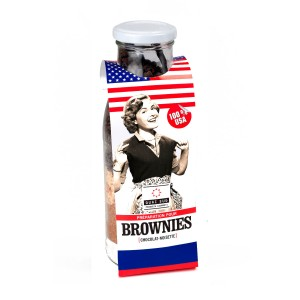 American Brownies - bakmix in fles