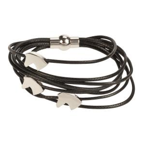 Armband met paardenhangertjes