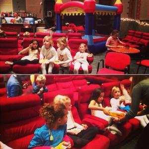 Arrangement kinderfilmfeestje voor 10 kinderen - Amsterdam