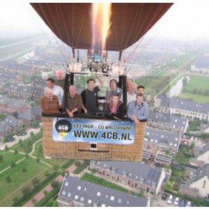 Ballonvaart - provincie Groningen