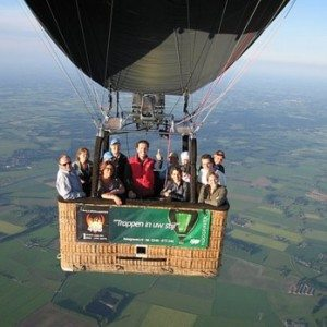Ballonvaart - provincie Utrecht