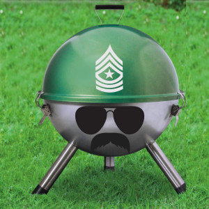 """Barbecue """"Grill Sergeant"""""""