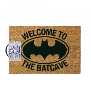 "Batman-deurmat ""Welcome to the Batcave"""