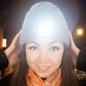 Beamie – muts met hoofdlamp