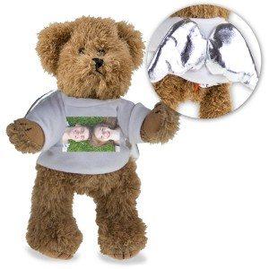 Beschermengel teddybeer met foto