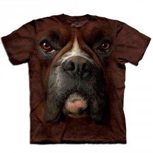 Big Face dieren T-shirts – Boxer