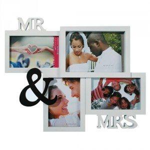 """Bilderrahmen """"Mr. & Mrs."""""""