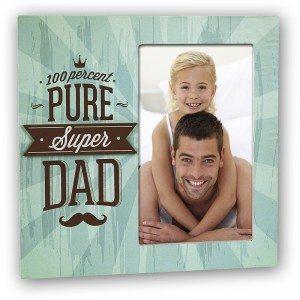 "Bilderrahmen ""Super Dad"""