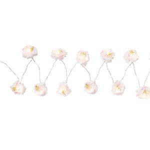 Bloemen lichtketting