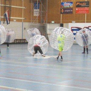 Bubbel voetbal - Noord-Brabant