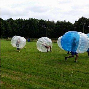 Bubbel voetbal op locatie met begeleiding - Drenthe
