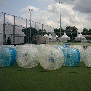 Bubbel voetbal op locatie met begeleiding - Friesland