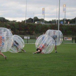 Bubbel voetbal op locatie met begeleiding - Noord-Brabant