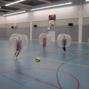 Bubbel voetbal op locatie met begeleiding - Noord-Holland
