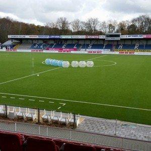 Bubbel voetbal op locatie met begeleiding - Provincie Groningen